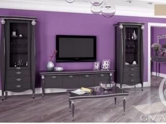 Мебель для гостиной в темном цвете Vegas - Мебельная фабрика «Гварнери»