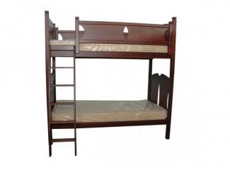 Кровать двухъярусная - Мебельная фабрика «Прима-мебель»