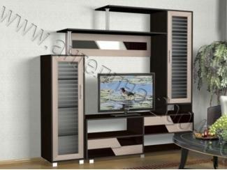 Небольшая гостиная под телевизор Мелодия 8 - Мебельная фабрика «Ангелина-2004»