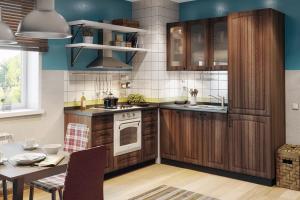 Угловая кухня АРЧ - Изготовление мебели на заказ «Кухни ЧУ»