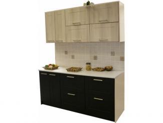 Кухня прямая Лиственница венге - Мебельная фабрика «Техсервис»