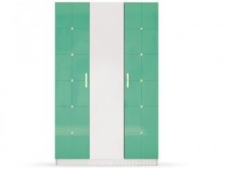 Шкаф в салатовом цвете Ниагара  - Мебельная фабрика «Фран»