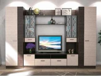Невысокая гостиная со шкафами Эдель 3  - Мебельная фабрика «СМГ»