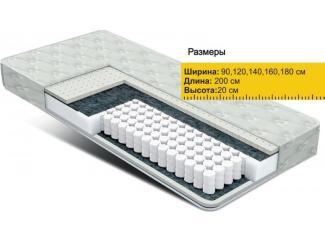 Матрас Независимые пружины латекс - Мебельная фабрика «Боровичи-Мебель»