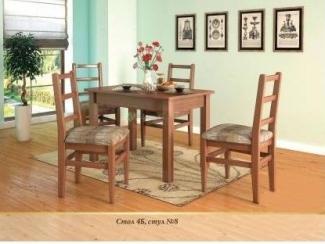 Обеденный комплект 10 - Мебельная фабрика «Верба-Мебель»