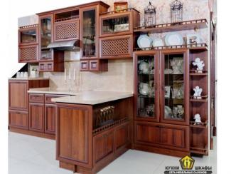 Кухня Николь Орех - Изготовление мебели на заказ «КИТ», г. Иркутск