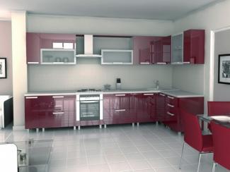 Кухня угловая Валенсия пластик - Мебельная фабрика «Вариант М»