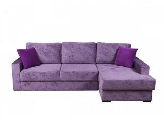 Фиолетовый диван Марсель 01  - Мебельная фабрика «DiVan», г. Санкт-Петербург