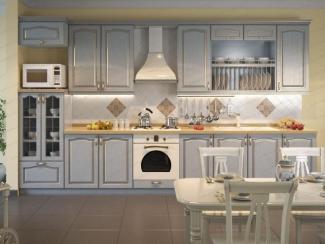 Кухня прямая массив - Мебельная фабрика «АСТ-мебель»