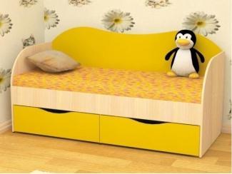 Детская кровать с ящиками Кроха  - Мебельная фабрика «Пирамида», г. Краснодар