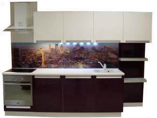 Кухня прямая Город - Мебельная фабрика «Антарес»