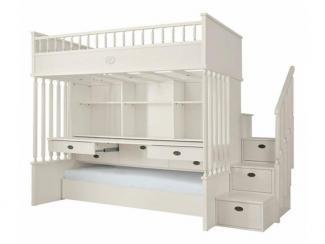 Кровать двухъярусная - Импортёр мебели «Spazio Casa»