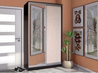 Шкаф-купе 2 створки с зеркалом Стандарт  - Мебельная фабрика «Грааль»
