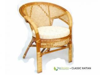 Кресло плетеное из ротанга Пеланги - Импортёр мебели «ЭкоДизайн (Китай, Индонезия)» г. Красноярск