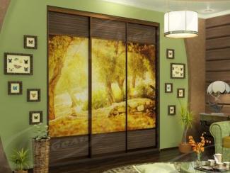 Шкаф - купе «Солнечный сад» - Мебельная фабрика «Ладос-мебель»
