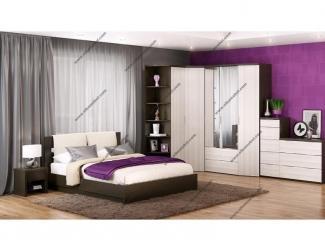 Спальня Фрия с угловым шкафом - Мебельная фабрика «Эльба-Мебель»