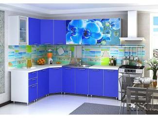 Кухонный гарнитур угловой Фотофасад