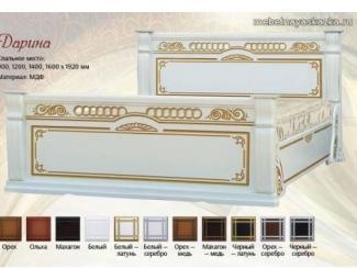 Кровать Дарина - Мебельная фабрика «Мебельная Сказка»