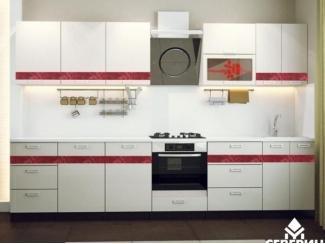Красно-белая кухня Розы  - Мебельная фабрика «Северин»