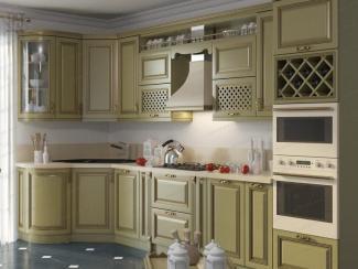 Кухня Коко массив - Мебельная фабрика «АСТ-мебель»