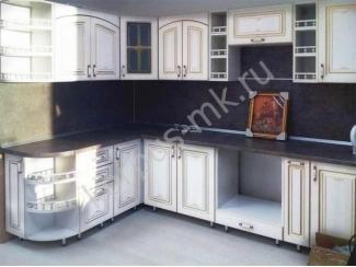 Кухня угловая МДФ ламинированный