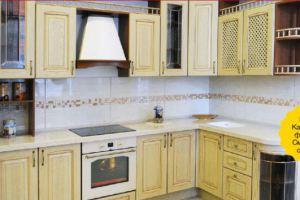 Угловая кухня Позитано Лина - Мебельная фабрика «Кухни МЕСТО»