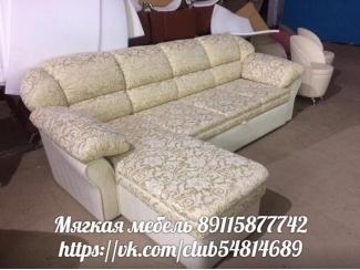 ДИВАН ЛЮКС- 2 С ОТТОМАНКОЙ - Мебельная фабрика «ИП Такшеев», г. Новодвинск