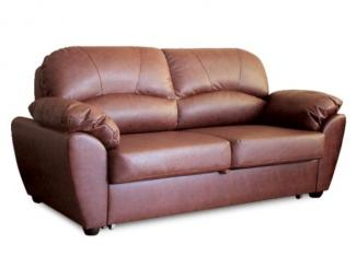 диван «Милена» кожа - Мебельная фабрика «Ладья»