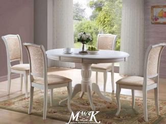 Стол обеденный Оlivia белый