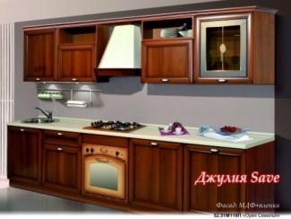 Классическая коричневая кухня Дамия - Мебельная фабрика «Ульяновскмебель (Эвита)»