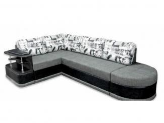 Диван угловой Квадро с полупуфом - Мебельная фабрика «Норма»