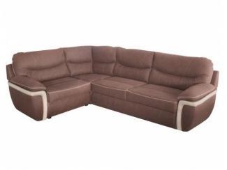 Коричневый угловой диван Аризона 5  - Мебельная фабрика «КМК (Красноярская мебельная компания)»