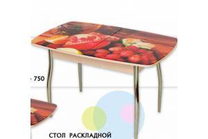 Стол раскладной фотопечать Евро - Мебельная фабрика «Евростиль»