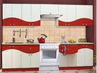 Кухня прямая Олимпия 12 (фасад Сочи)