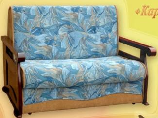 Диван прямой Кардинал аккордеон - Мебельная фабрика «Росмебель»