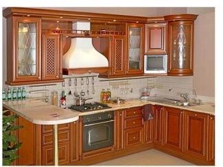 Кухня из массива Страдивари - Мебельная фабрика «Дельфин»