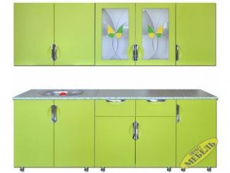 Кухня прямая 76 - Мебельная фабрика «Трио мебель»