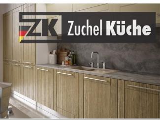Кухонный гарнитур Шверин Браш Гляссе - Мебельная фабрика «Zuchel Kuche»