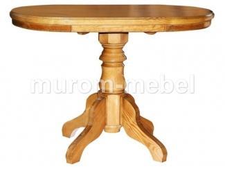 Стол Олигарх на одной балясине с обкладом - Мебельная фабрика «Муром-мебель»