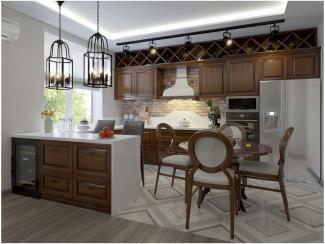 Кухня прямая Баверли патина - Мебельная фабрика «Вариант М»