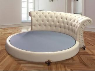 Круглая кровать Аврора  - Мебельная фабрика «Мебельный Край»