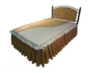 Двойная кровать Ирина-1200  - Мебельная фабрика «Металл конструкция»