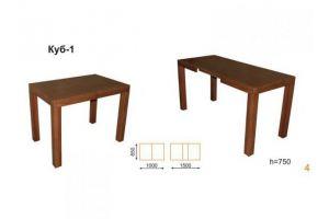 Стол Куб 1 - Мебельная фабрика «Вектра-мебель»