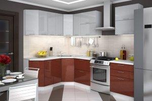 Кухонный гарнитур Браво  - Мебельная фабрика «Славные кухни (ИП Ларин В.)»