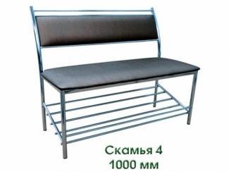 Скамья 4 - Мебельная фабрика «Кристалл»
