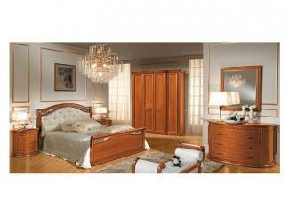 Итальянская спальня СИЕНА  - Импортёр мебели «Camelgroup»