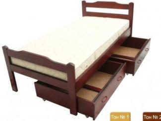 Кровать Хвоя - Мебельная фабрика «Егорьевск»