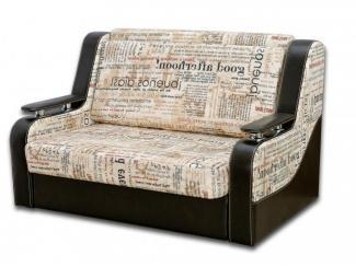 Диван прямой ткань + кожа  - Мебельная фабрика «Магнолия»