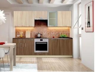 Кухня ЛДСП Шанталь 1 - Мебельная фабрика «Мастера Комфорта»