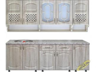 Кухня прямая 85 - Мебельная фабрика «Трио мебель»
